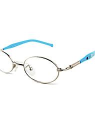 [livres] lentes ovais de metal full-jante óculos de grau de moda