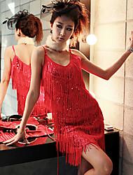 Vestidos y faldas ( Negro/Oro/Rojo , Lentejuela , Desempeño/Ropa de Noche ) - Desempeño/Ropa de Noche - para Mujer