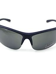 100% UV 400 man sport oversized gradiëntkleur zonnebril