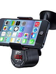 suporte para o carro inteligente para iphone e ipad / bluetooth car kit handsfree / fm transmissor da música para carro / carregador de