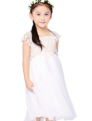 Girl's Mesh Dress , Summer