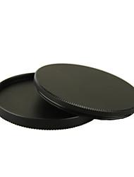77 mm de metal atornillada en la caja de lentes caso strorage pila de filtros para objetivos de cámaras