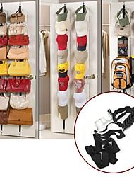 16 up down crochets de porte mur espace de suspension économiseur sacs à main des sacs de vêtements chapeau chambre