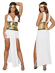 Greek Goddess Princess White Female Halloween Cosplay Costumes