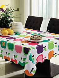 Knowll Tasteless Environmental Protection Waterproof Table Linens Hotel Tablecloth  Rectangular  PVC