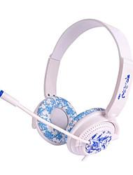 Auriculares Alámbrico - Cascos(cinta) - Con Micrófono/Control de volumen/De Videojuegos/Deportes - Reproductor Media/Tablet/Computador -