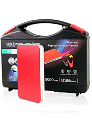 900mAh Car Emergency Jump Starter Portable Automobile Power Bank
