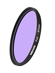 MENGS® 67mm FLD Fluorescent Filter For Canon Sony Nikon Fuji Pentax Olympus Etc Digital Camera
