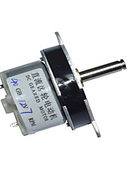 40MM DC 12V 7RPM High Torque Electric Gearbox Motor