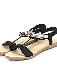 Women's Shoes Leather Flat Heel Slingback Sandals Office and Party More Colors available