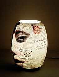 Newspapers Pattern Table Lamp