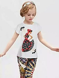 2015 Fashion Children T shirts for Girls Brand Girl T shirt for Kids Tops&Tees Cotton O-Neck Baby Girls T-shirts