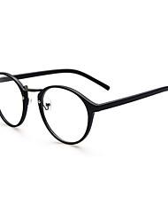 [Free Lenses] Round Full-Rim Classic Eyeglasses