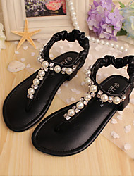 Girls' Shoes Wedding Flip Flops Comfort Leather Sandals More Colors available