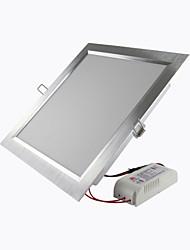 Luminária de Painel Encaixe Embutido 90 SMD 2835 1800 lm Branco Quente / Branco Frio Decorativa AC 85-265 V 1 pç