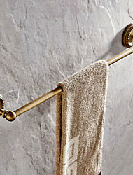 Antique Brass 24 Inch Single Towel Bars