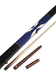 3/4 Jointed maple wood  snooker/Pool Cue JY brand  billiard cue+Cue Case