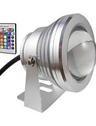 1 pieza MORSEN 10 W LM RGB Decorativa Luces Bajo el Agua DC 12 V