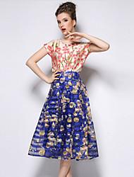 MMS™Women's Print Fashion Slim Bubble Skirts
