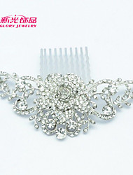 Popular Neoglory Jewelry Flower Bridal Weeding Hair Comb Accessory Tiara