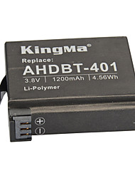KingMa® Rechargeable AHDBT-401 Battery 1200mAh for Gopro Hero 4 Black Hero Silver