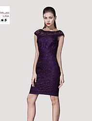 MILANLISA®  The 2015 Women's Boutique Hollow Heavy Embroidered Collar Dress