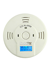 New Lcd Display Carbon Monoxide Detector with 3 pcs Battery Co Alarm