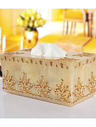 The Pearl Flower Tissue  Box