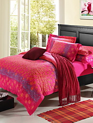 Super Soft Warm Raschel Fabric Bedding Four Pieces