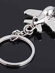 Unisex Alloy Casual Keychain Fashion Mini Plane Key Chains