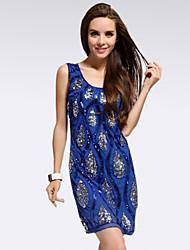 Queling vestido del chaleco de la moda clásica exquisita cadera del paquete de Yalun ™ mujeres