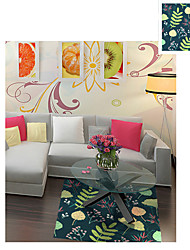 3D The Flower Wall Stickers Floor Stickers