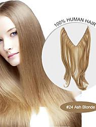 20inch # 24 cenere estensioni dei capelli biondi aureola 100% di vibrazione dei capelli umani nelle estensioni dei capelli migliore