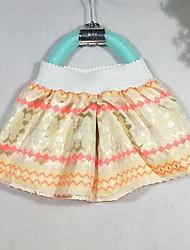 Girl's Summer Micro-elastic Thin Skirts (Organza)