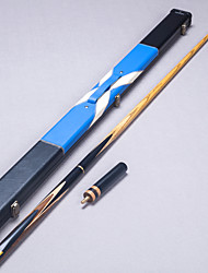 3/4 Jointed Handmade ebony  snooker/Pool Cue LP  brand billiard cue+Cue Case