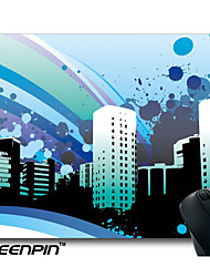 SEENPIN Personalized Mouse Pads Blue City Design