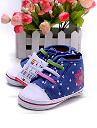 Baby Shoes Dress/Casual Synthetic/Cotton Fashion Sneakers Blue