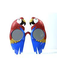pc grappige papegaaien geek&chique party bril