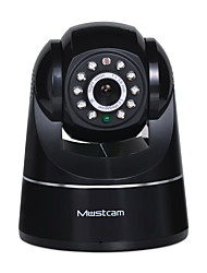 H807P Mustcam Wireless Network IP Camera with IR-Cut H.264 WPS Alarm Micro-SD Storage Two-way Audio OnVif