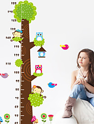 pared calcomanías pegatinas de pared, altura adhesivo pvc pegatinas de pared