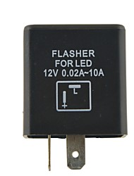 Auto Control Motorcycle Accessories Motorcycle Flasher Relay LED Flasher 2P