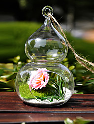 Table Centerpieces Glass Garden Theme Vases   Table Deocrations (Sand Not Included,Flowers Not Included)