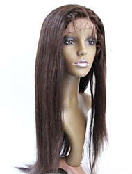 Women Lace Front Wig 10inch~20inch India Hair Color(#1 #1B #2 #4)straight hair