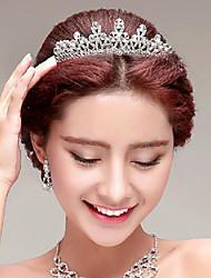 Elegant Rhinestones Titanium Wedding/Party Bridal Headpieces/Tiara