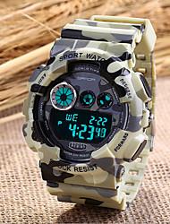 Men's Military Sport Watch Japanese Quartz Digital LED/Calendar/Chronograph/Water Resistant/Alarm (Assorted Colors) Cool Watch Unique Watch