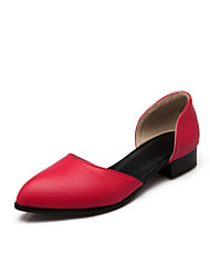 Women's Shoes Flat Heel Comfort Sandals Office & Career/Dress/Casual Black/Red/White