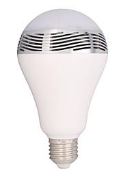 besteye®3w e27 100-240v Bluetooth inteligente lâmpada LED multi-cor levou luz com alto-falante sem fio Bluetooth