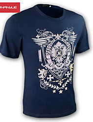 MANWAN WALK®Men's Shield Wing Printed Tee