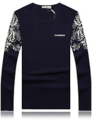 Men's Spring New Chinese Wind Long Sleeve T-shirt