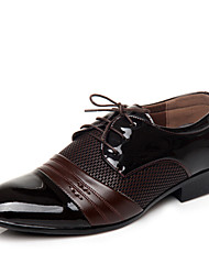 Men's Shoes  Leather  Comfort  Pointed Toe  Oxfords  Outdoor  Casual